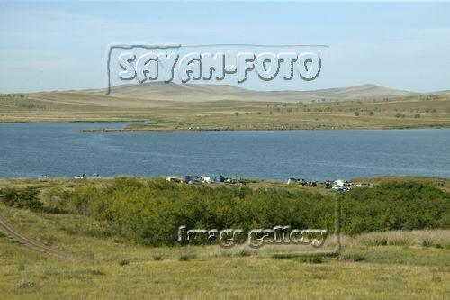 На озере Утином