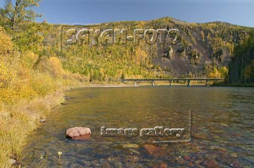 Осень на реке Ус